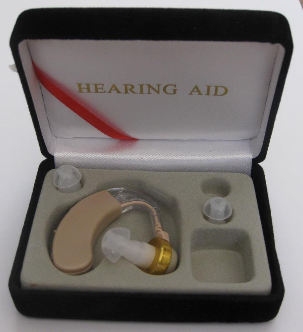 Hearing aid alat bantu dengar BTE behind the ear at pharmacy farmasi