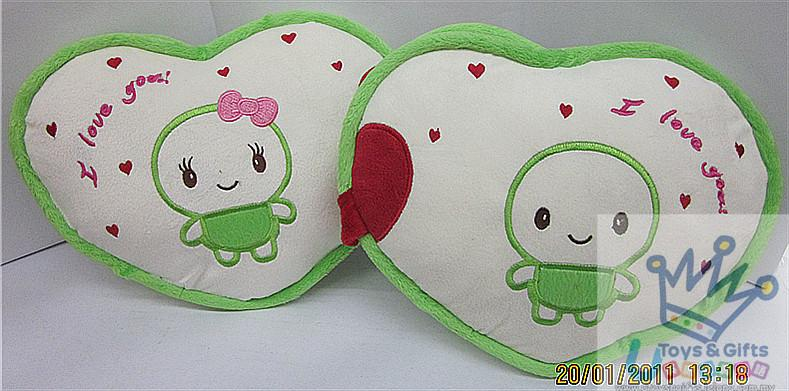 Heart Shaped Pillow-Kuma-Kuma(2 In 1)