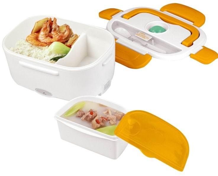 Heats and Stores Food: Portable Electronic Lunch Box