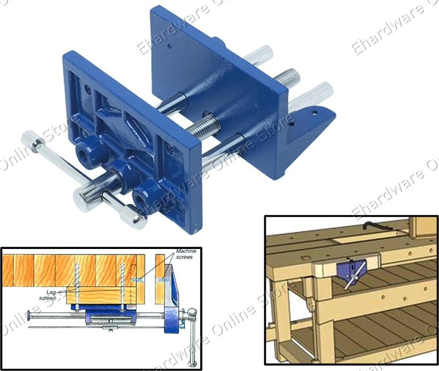 Heavy Duty Woodworking Table Clamps
