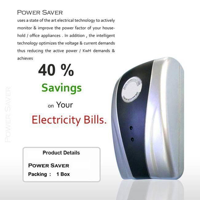 Power Electricity Energy Money Saving Box
