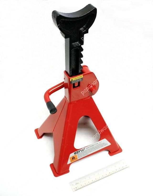 Heavy Duty Strong Jack Stand(Plated Base) - 2 Pcs set