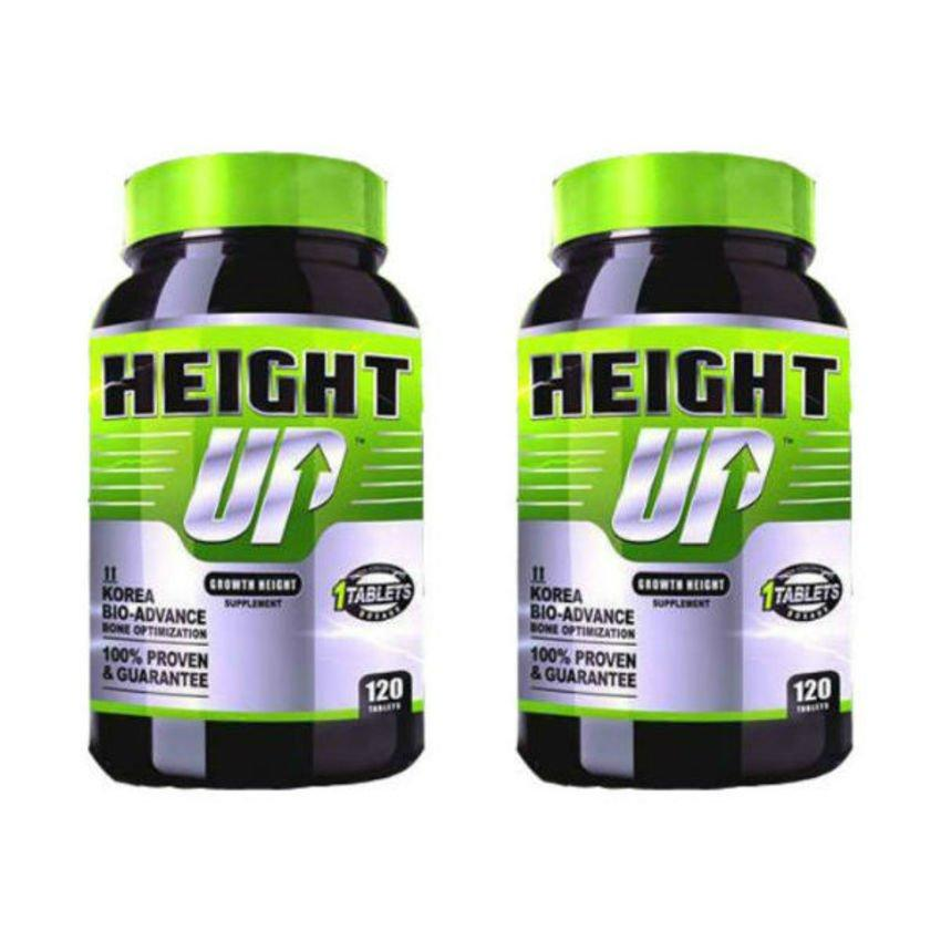 HEIGHT UP  2 bottles (240tablet) Termurah + Extra Gift