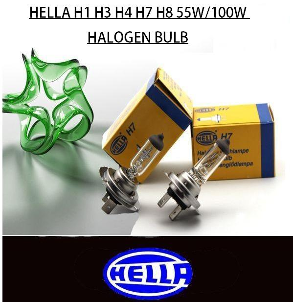 Hella H1 H3 H4 H7 H8 Yellow Halogen (end 12/12/2018 5:34 PM