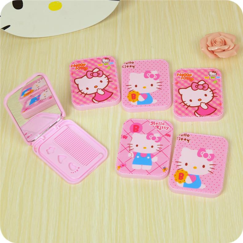 Hello Kitty 2 in 1 Mirror and Comb