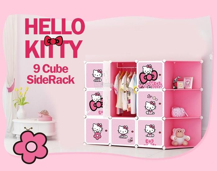 hello kitty 9 cube diy wardrobe with end 12 3 2017 3 18 pm. Black Bedroom Furniture Sets. Home Design Ideas