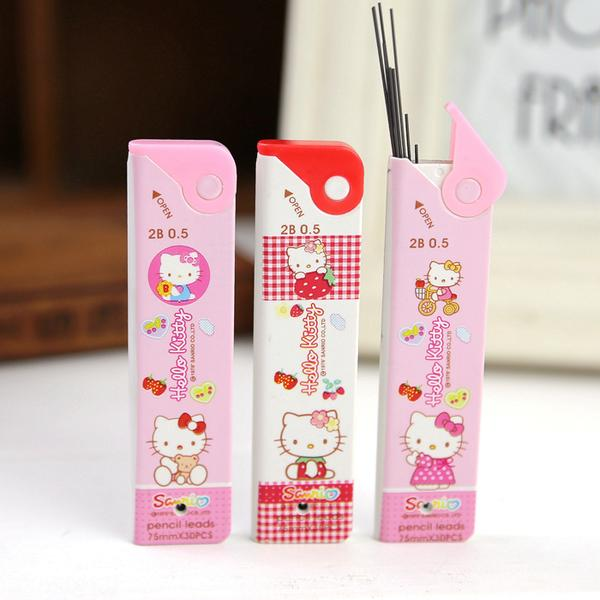 Hello Kitty Automatic Pencil 2B 0.5mm Pencil Leads - Random Designs