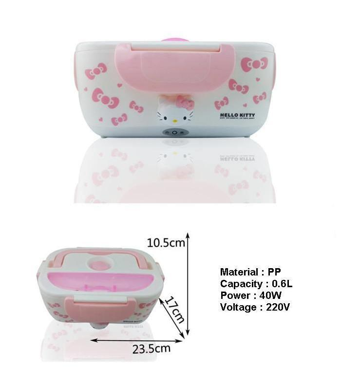 hello kitty bento lunch box warmer st end 5 3 2017 1 15 pm. Black Bedroom Furniture Sets. Home Design Ideas