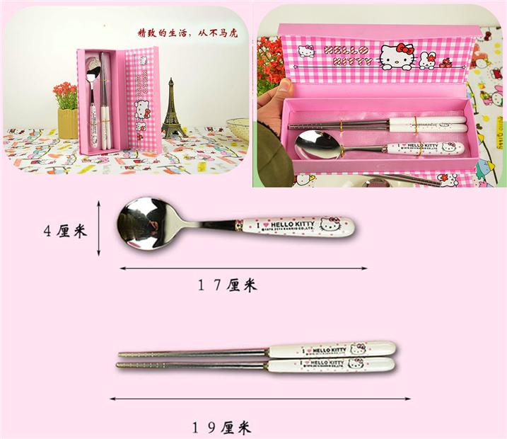 Hello Kitty Ceramic Cutlery Gift Set