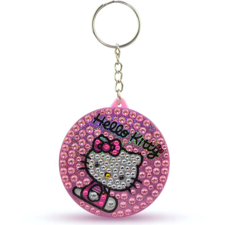 Hello Kitty Crystal Round 100cm Measuring Tape (Random Pick)