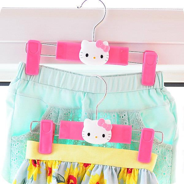 Hello Kitty Cute Pant Skirt Short Retractable Hanger - Price of 1