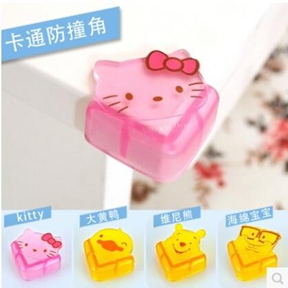 Hello Kitty Cute Silicon Soft Table Corner Cover - 4 in 1 set