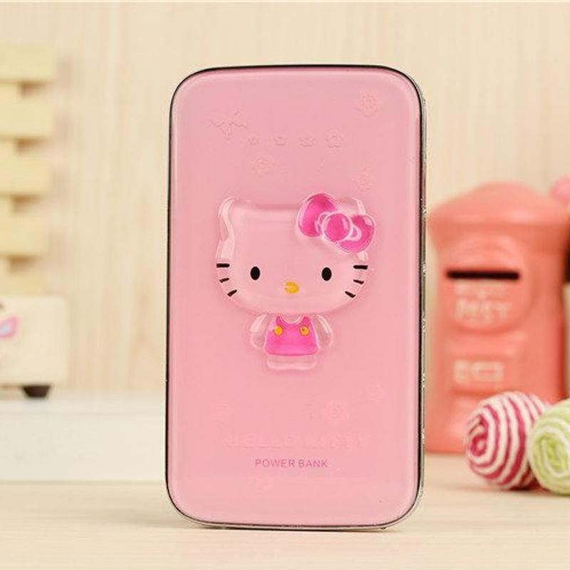 Hello Kitty Cystal Diamond 5000mAh PowerBank - Pink