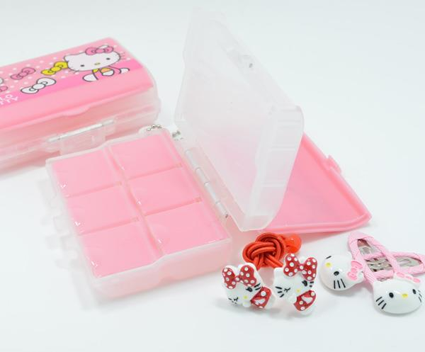 Hello Kitty Double Layer Pill Organiser Box