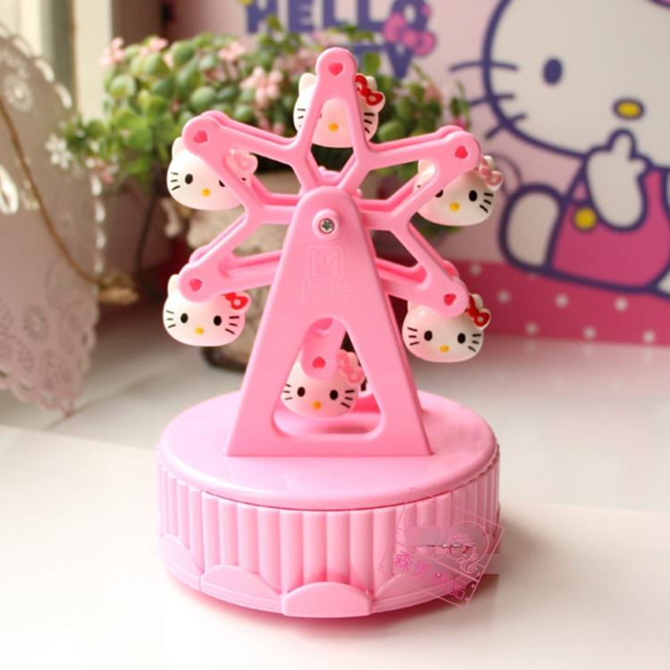 Hello Kitty Ferris Wheel Music Box