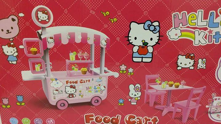 Hello kitty food cart kids gift se end 12 16 2017 5 15 pm for Cuisine hello kitty