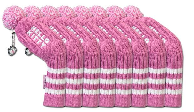 Hello Kitty Golf Iron Cover Set of 8  - Free Shipping from Overseas
