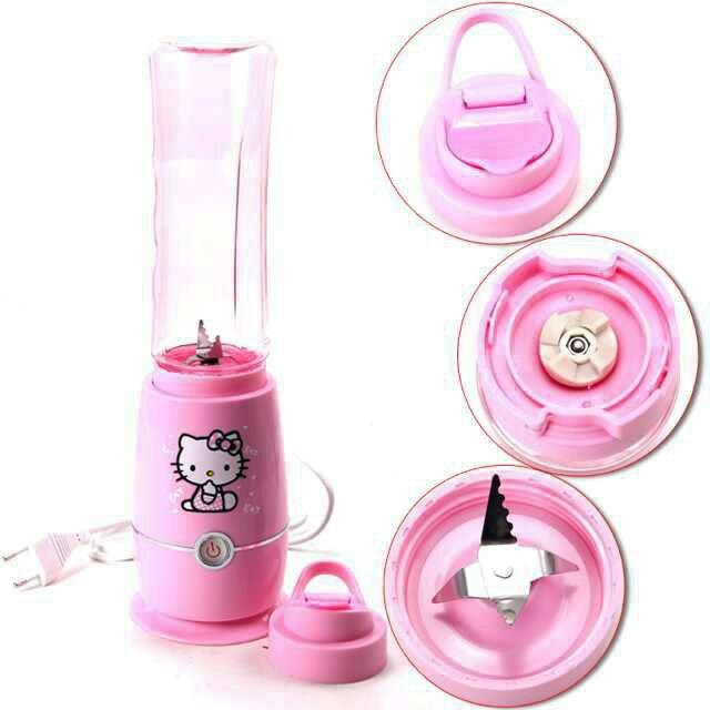 Kitty In A Blender ~ Hello kitty juice blender end am myt