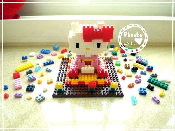HELLO KITTY KIMONO LOZ NANO BLOCKS LEGO DIY TOY GIRL BOY KIDS GIFT