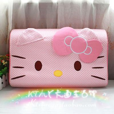 Hello Kitty Memory Foam Pillow - Soft Pink
