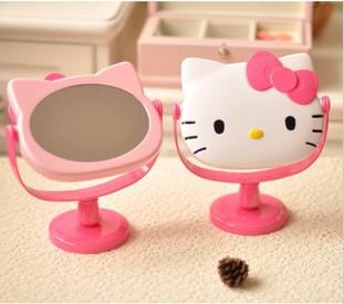 Hello kitty mirror lovely cute pink c end 7 1 2017 7 32 am for Table exterieur hello kitty