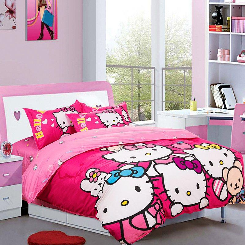 Hello Kitty Pink Queen size bedsheet end 6 13 2016 4 15 PM