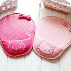 HELLO KITTY PU LEATHER MOUSE PAD WITH WRIST CUSHION