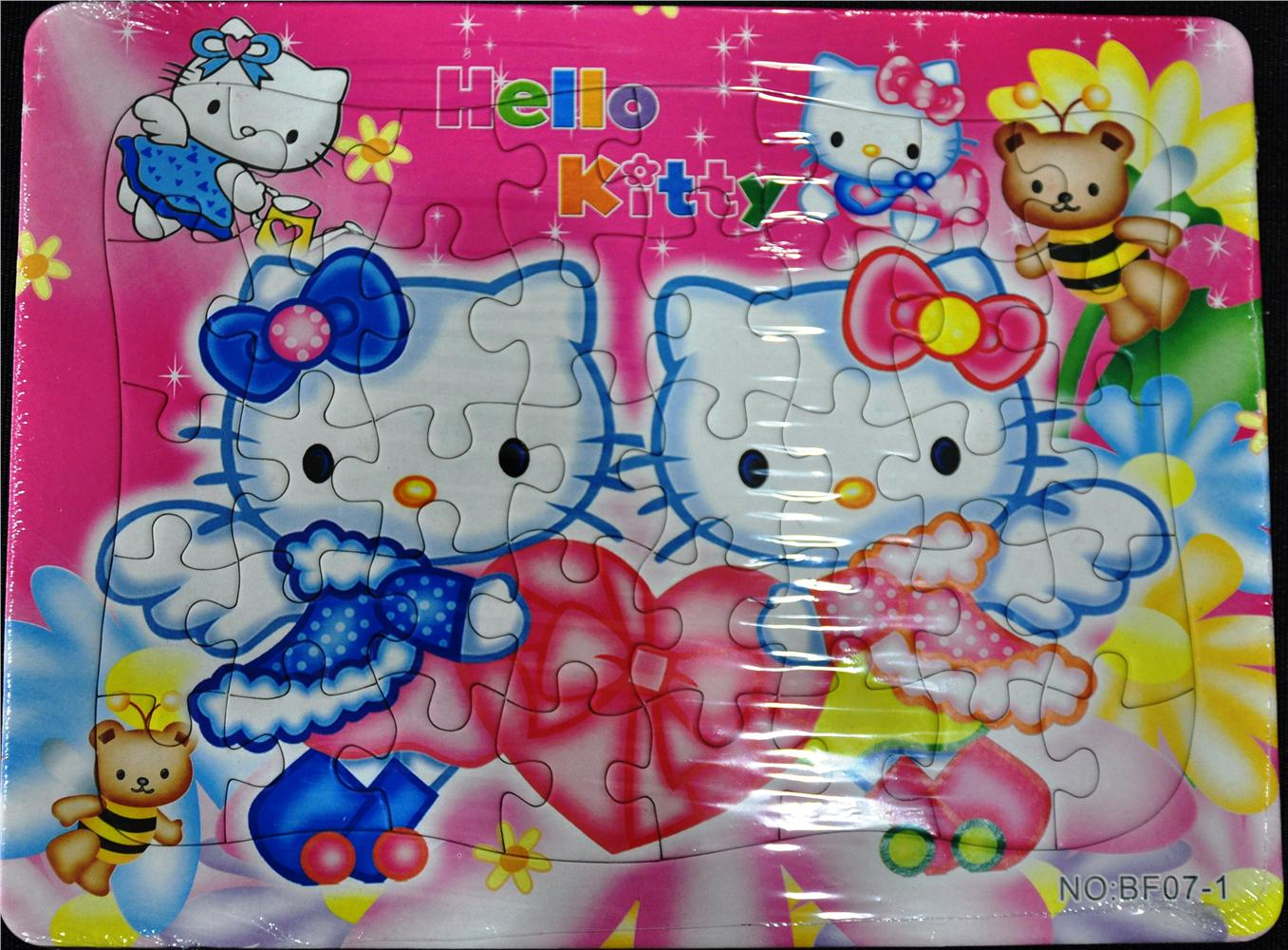 Hello Kitty Puzzle / Children Activity / Creative Kid Gift