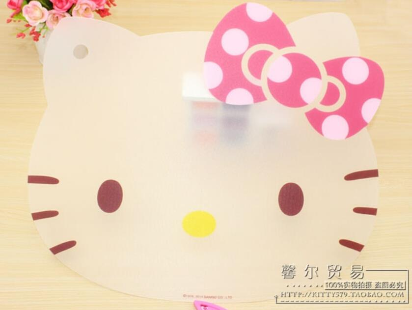 HELLO KITTY PVC Cutting Chopping Writing Board