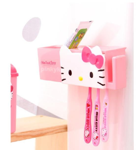Hello Kitty Sanitary Tootbrush Holder