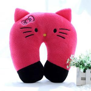 Hello Kitty Soft Fleece U Shape Pillow for Travel