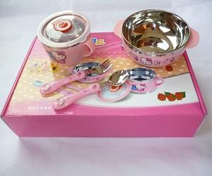 Hello Kitty Tableware 5pcs Set