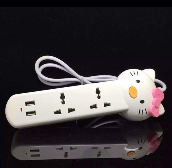 Hello Kitty USB Universal Plug  Socket
