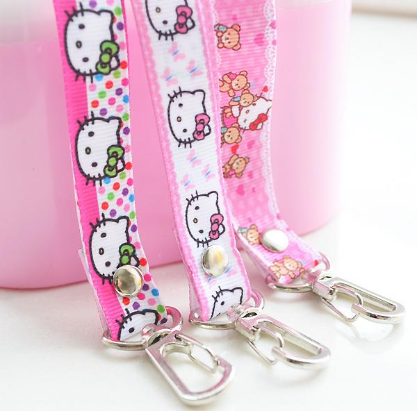 Hello Kitty Working Access Touch n Go Card Neck Strap