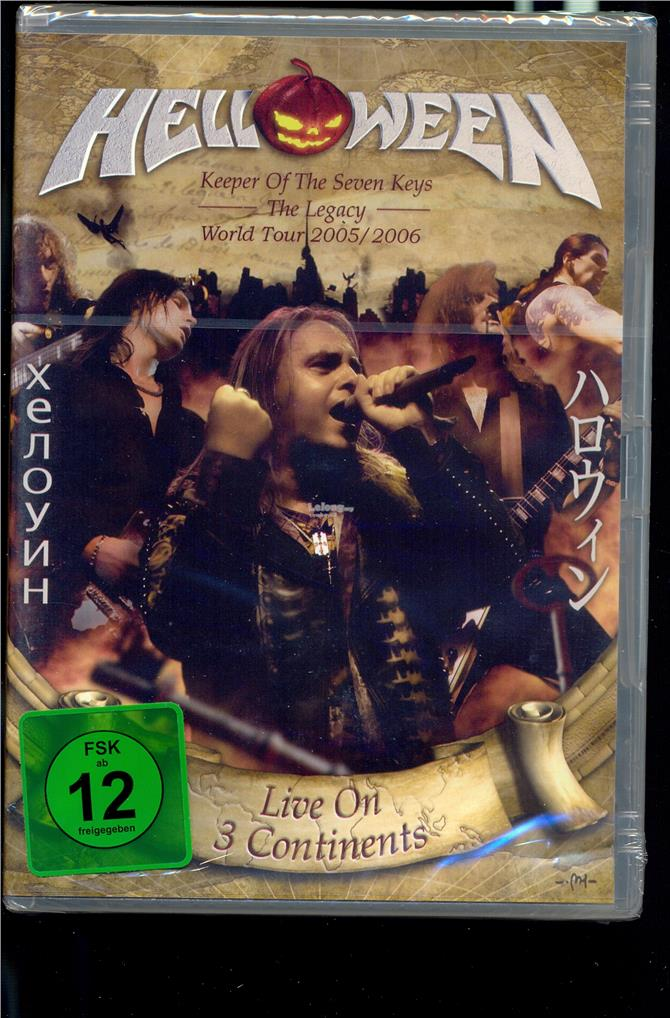 Helloween Live On 3 Continents - New Live DVD