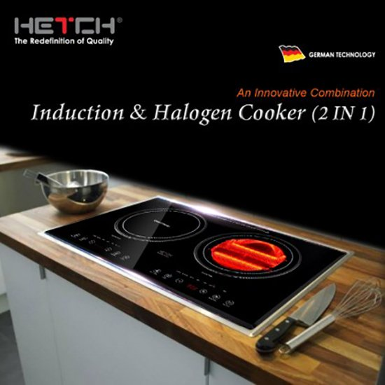 Hetch 2 in 1 table top induct end 6 29 2019 4 49 pm myt - Table induction 2 feux ...