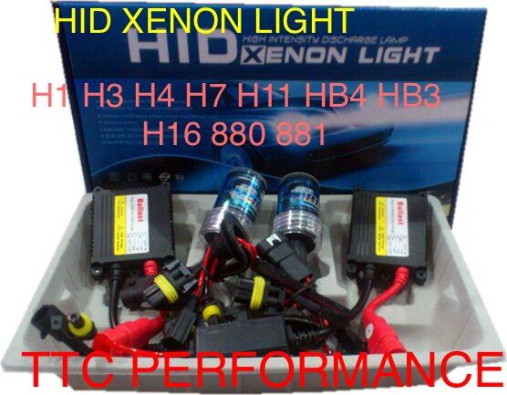 hid conversion kit 55W Gred A QUALITY