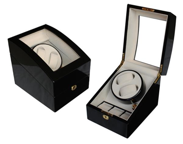 High Gloss Wooden Watch Winder 2+3