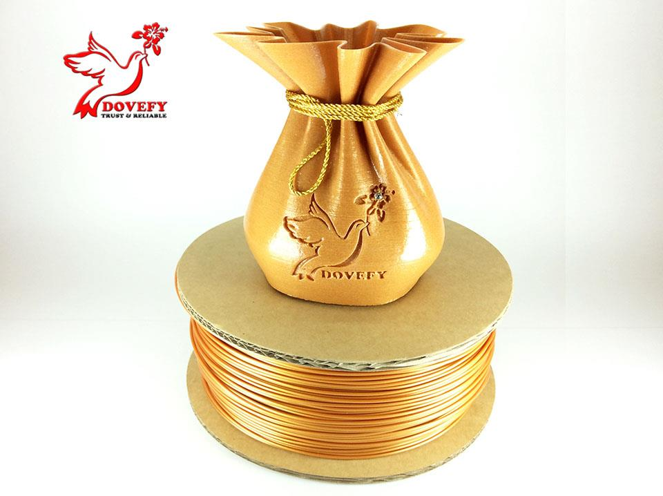 High Grade 3D Printer ABS Filament 1.75mm (Metal Gold)