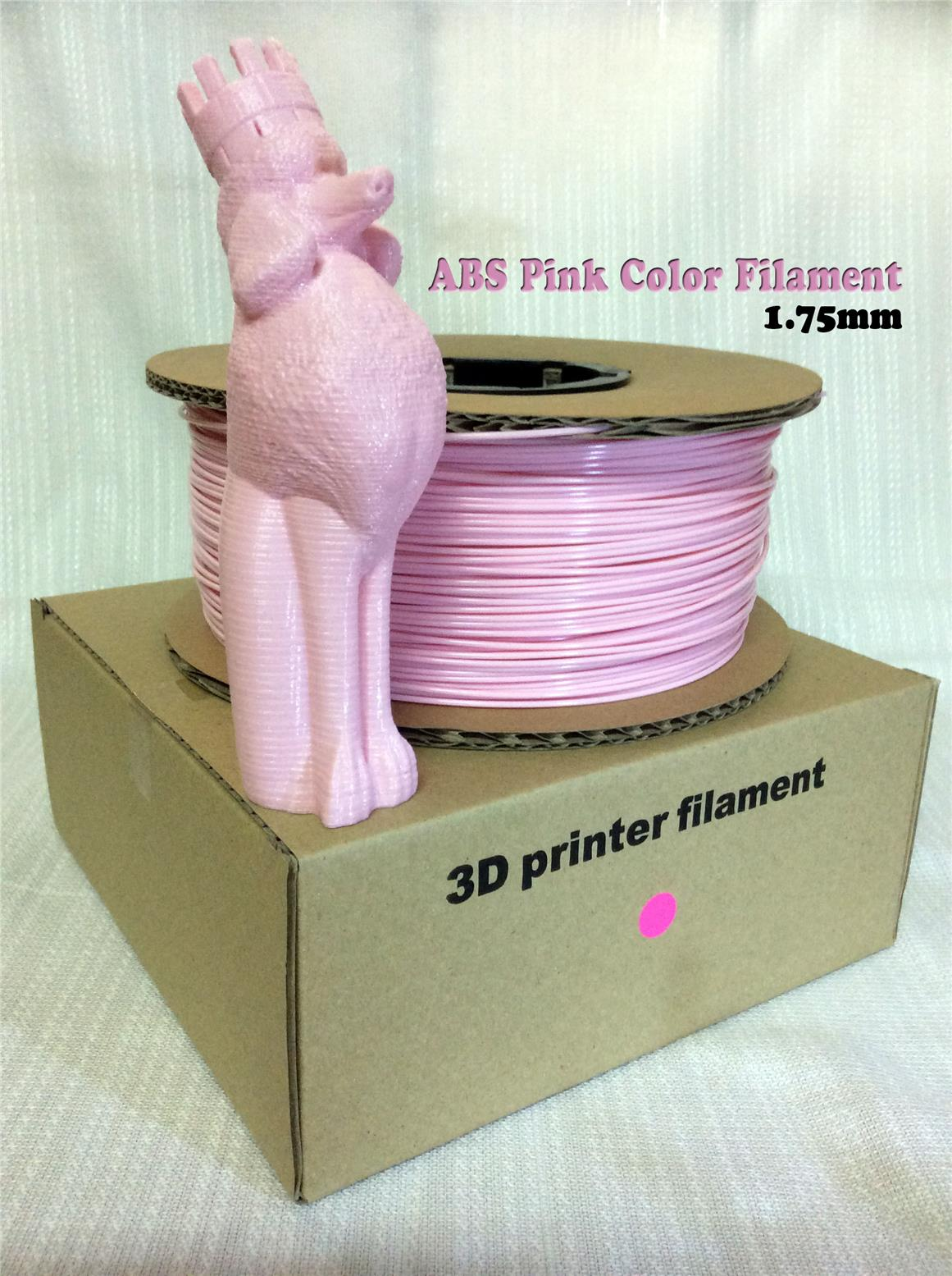 High Grade 3D Printer ABS Filament 1.75mm (Pink)