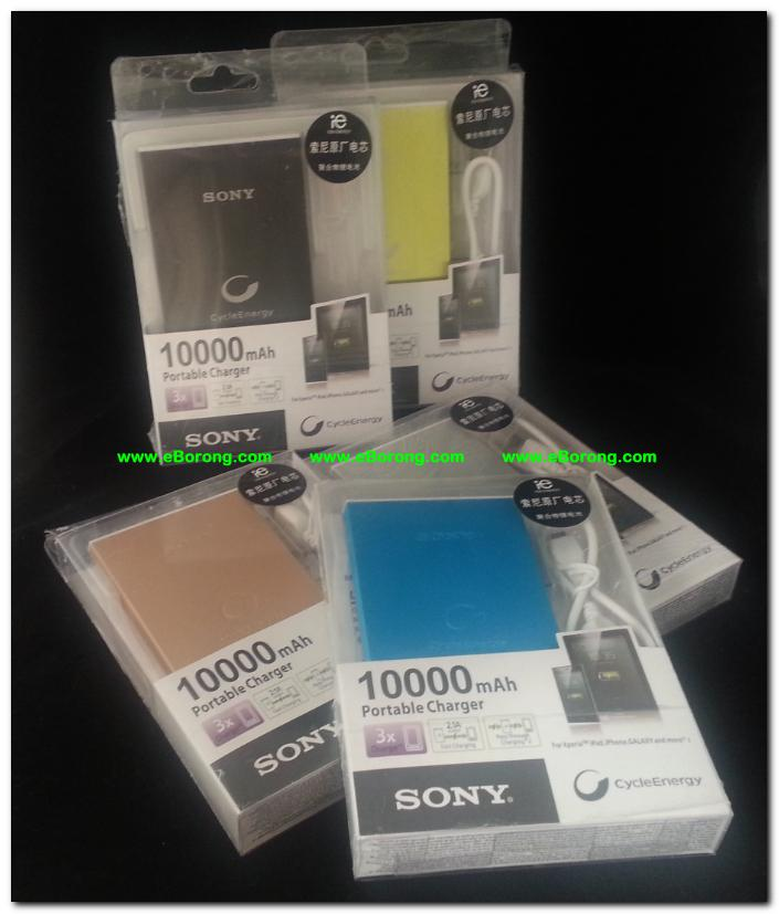 Harga Power Bank Sony 10000mah High Power 10000mah Power Bank