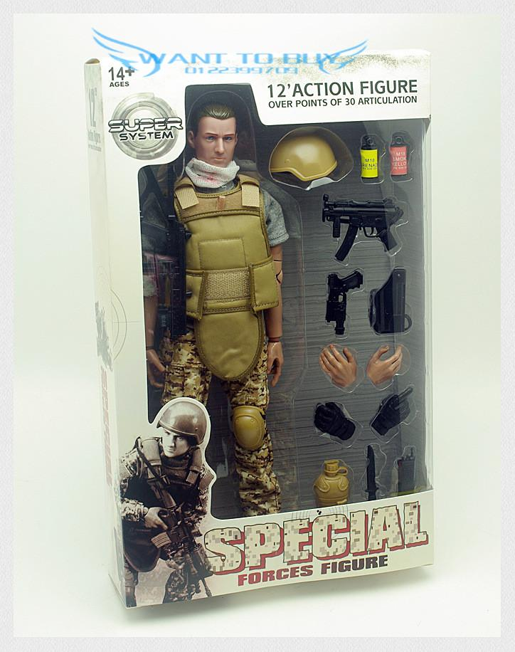 High Quality 12 Inch 30CM Privates Action Figure (Free Shipping) 33
