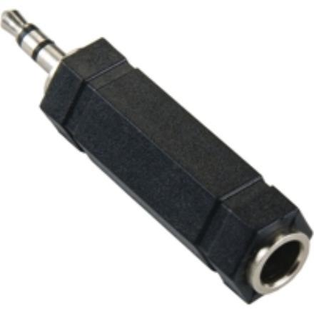 HIGH QUALITY AUDIO 6.5MM (F) TO 3.5MM (M) CONVERTER, F1324