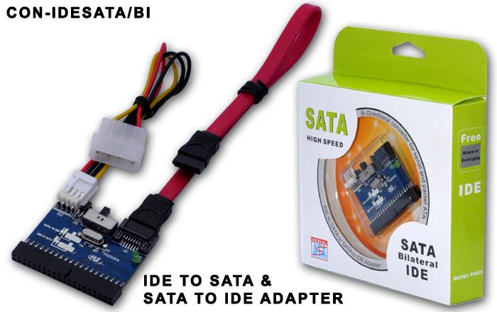 HIGH QUALITY BIDIRECTIONAL IDE TO SATA CONVERTOR (IDESATA/BI)