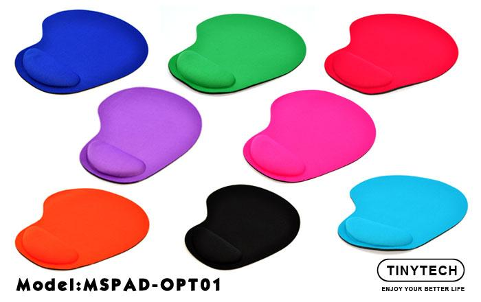 HIGH QUALITY DURABLE MOUSE PAD W/ SOFT FOAM ARM-REST (OPT01)