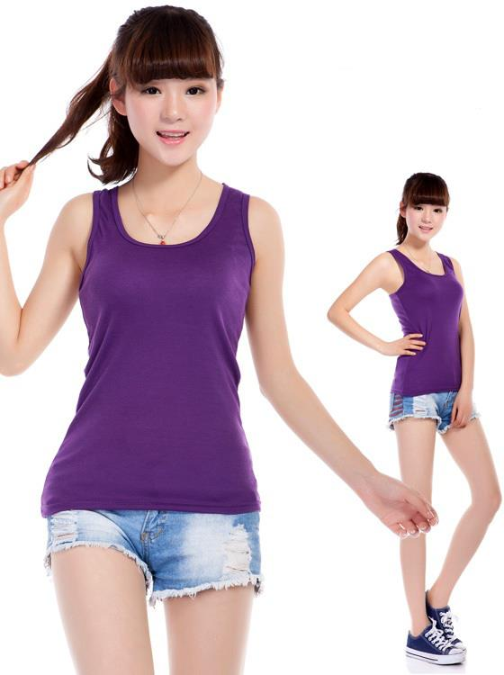 High Quality Full Cotton Long Type Singlet