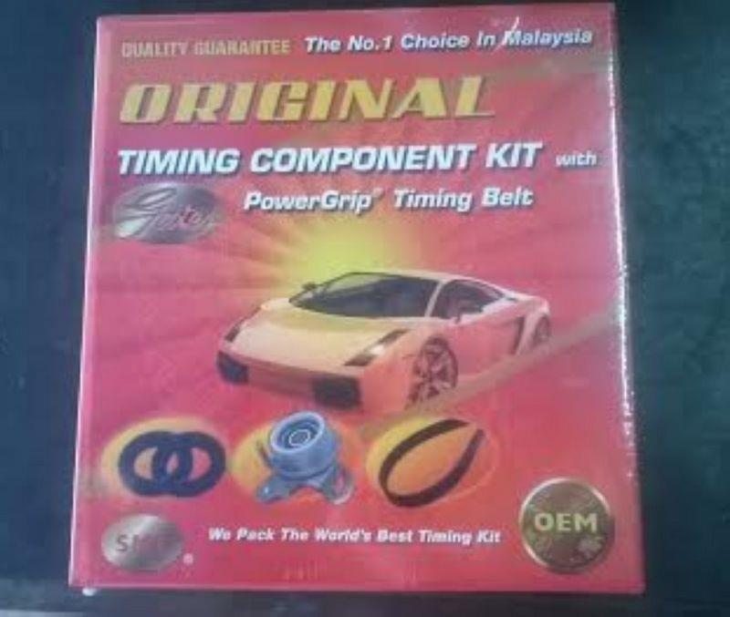 High Quality Gates OEM Timing Belt Set [ PERODUA KELISA / SAGA ]