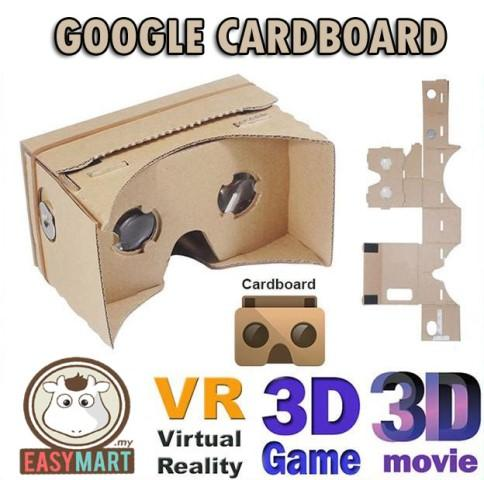 High Quality New Google Cardboard VR DIY 3D Glasses Android iOS NFC