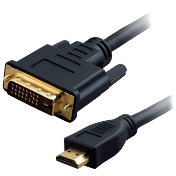 HIGH QUALITY HDMI (M) TO DVI 24+1 (M) CABLE 1.8M