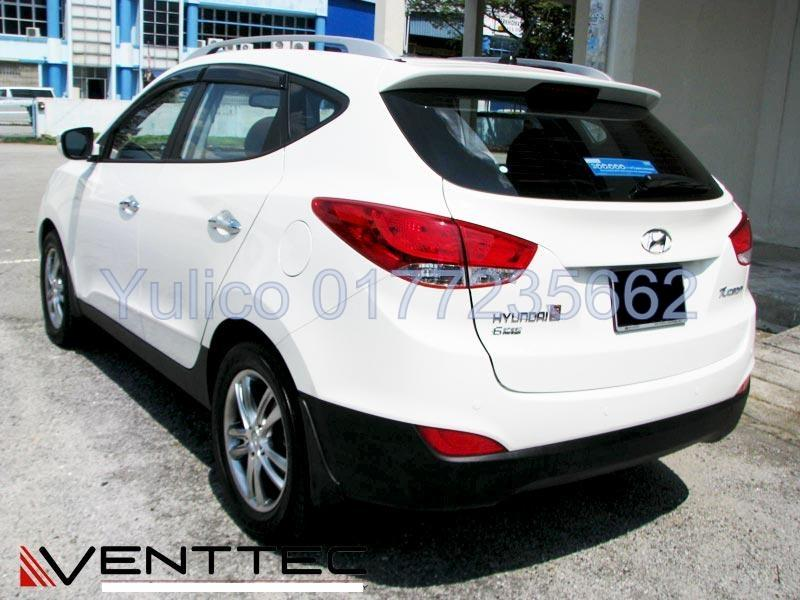 HIGH QUALITY HYUNDAI TUCSON (IX 35) DOOR VISOR FOR YEAR 09' AND ABOVE'